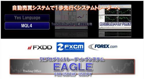 FXプログラムトレーディングシステム EAGLE